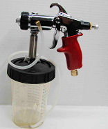 22397 - Regular Spray Set Up Spray Gun with 3M's Paint Preparation System Type H/O Pressure Cup
